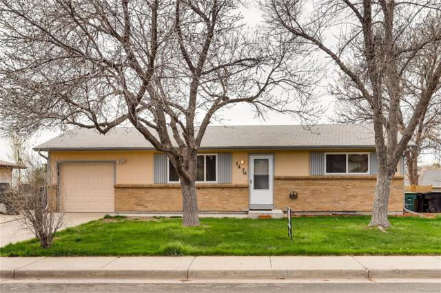 1470 E 98th Avenue, Thornton, CO 80229 (#8946098) :: The Heyl Group at Keller Williams