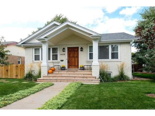 1419 S Gaylord Street, Denver, CO 80210 (#8946602) :: Thrive Real Estate Group