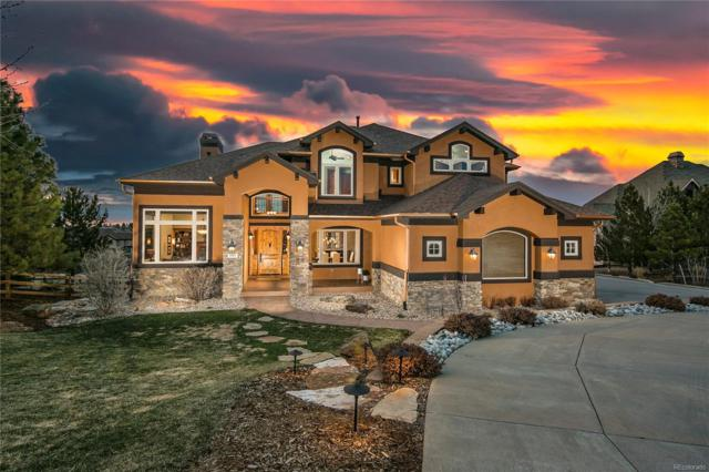 9187 Windhaven Drive, Parker, CO 80134 (#8956729) :: The DeGrood Team