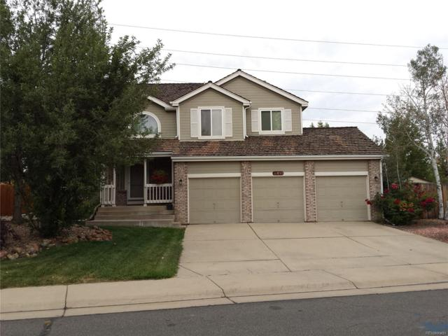 11855 W 56th Drive, Arvada, CO 80002 (#8971443) :: The Peak Properties Group