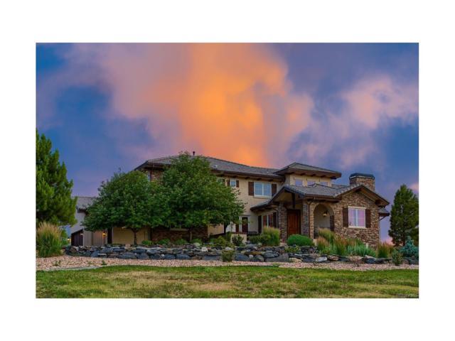 9430 Sara Gulch Circle, Parker, CO 80138 (MLS #8974378) :: 8z Real Estate