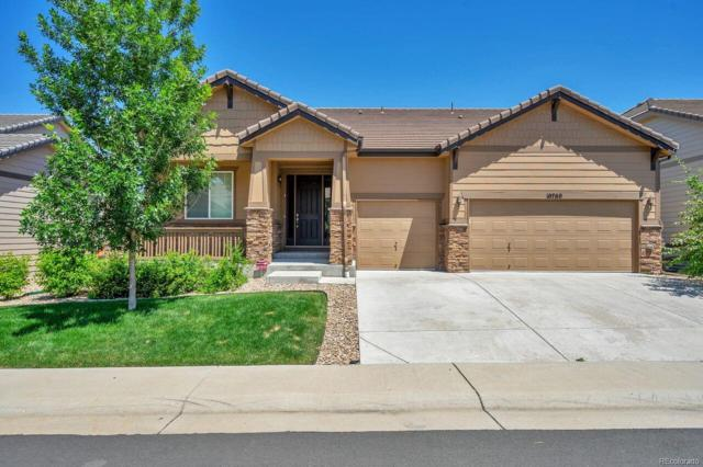 10760 Hillrose Street, Parker, CO 80134 (#8991275) :: Structure CO Group