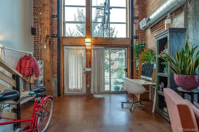 3033 Blake Street #114, Denver, CO 80205 (MLS #8992779) :: 8z Real Estate