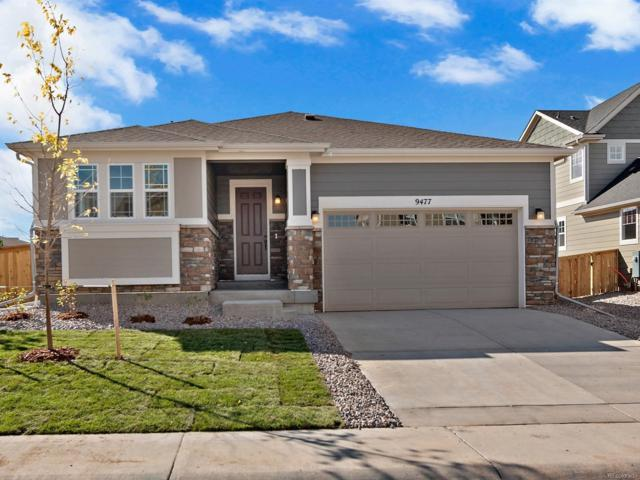 9477 Market Lane, Parker, CO 80134 (#9053545) :: The Galo Garrido Group