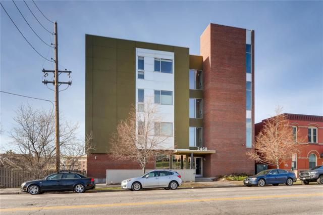2460 W 29th Avenue #102, Denver, CO 80211 (#9068297) :: Real Estate Professionals