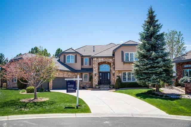 9591 E Hidden Hill Lane, Lone Tree, CO 80124 (#9124713) :: Mile High Luxury Real Estate