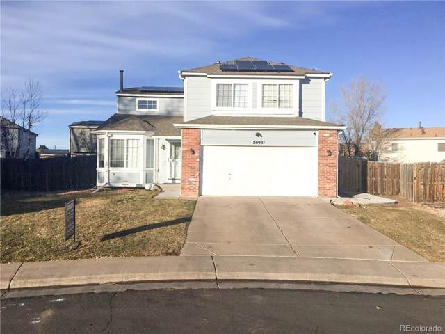 20931 Kelly Place, Denver, CO 80249 (MLS #9140884) :: 8z Real Estate