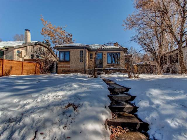 940 S University Boulevard, Denver, CO 80209 (#9152450) :: 5281 Exclusive Homes Realty