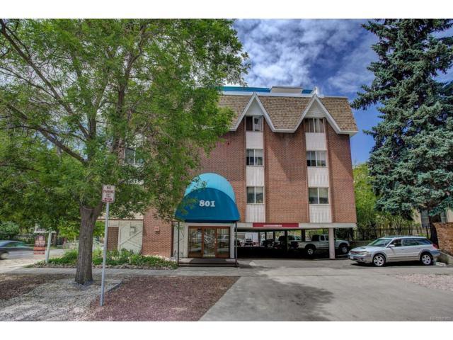 801 N Pennsylvania Street #306, Denver, CO 80203 (MLS #9199894) :: 8z Real Estate