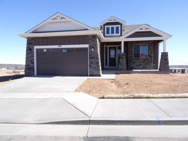 881 Uintah Bluffs Place, Colorado Springs, CO 80903 (#9210697) :: Wisdom Real Estate