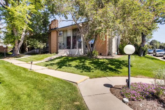 3548 S Hillcrest Drive #4, Denver, CO 80237 (#9262550) :: Group 46:10 - Denver