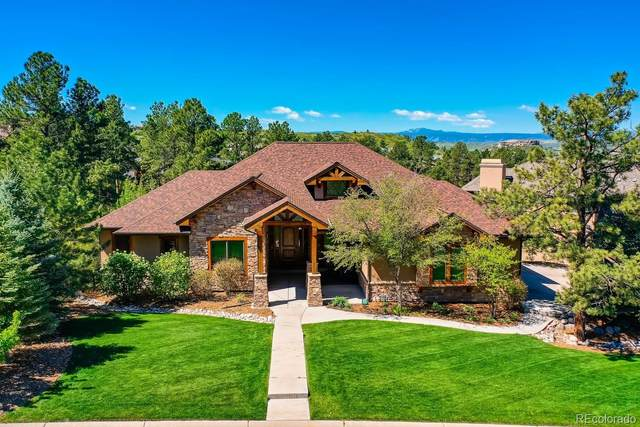 2640 Saddleback Drive, Castle Rock, CO 80104 (#9319726) :: The Colorado Foothills Team | Berkshire Hathaway Elevated Living Real Estate