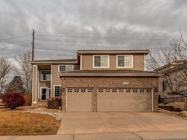 2389 Bitterroot Place, Highlands Ranch, CO 80129 (#9328555) :: The Scott Futa Home Team