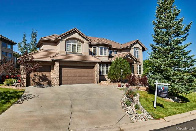 9140 E Lost Hill Drive, Lone Tree, CO 80124 (#9364631) :: The HomeSmiths Team - Keller Williams