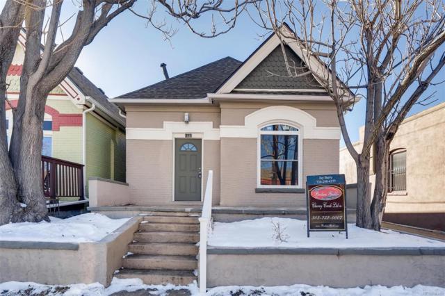 1222 E 28th Avenue, Denver, CO 80205 (MLS #9370934) :: JROC Properties
