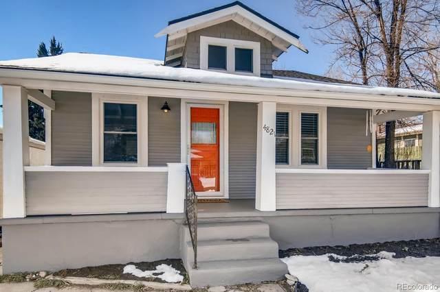 4821 Perry Street, Denver, CO 80212 (#9396119) :: HomeSmart