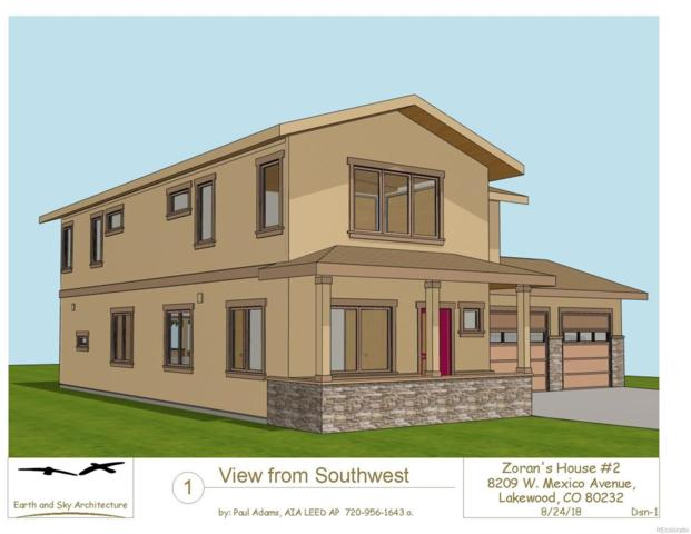 8209 W Mexico Avenue, Lakewood, CO 80232 (MLS #9409143) :: 8z Real Estate