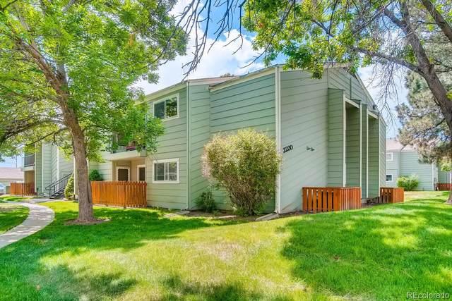 2220 E Geddes Avenue F, Centennial, CO 80122 (#9438862) :: Peak Properties Group