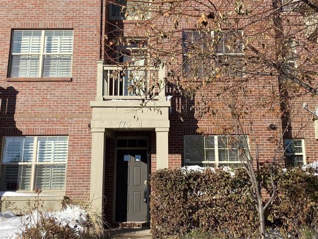 775 Roslyn Street #4, Denver, CO 80230 (#9568838) :: The HomeSmiths Team - Keller Williams