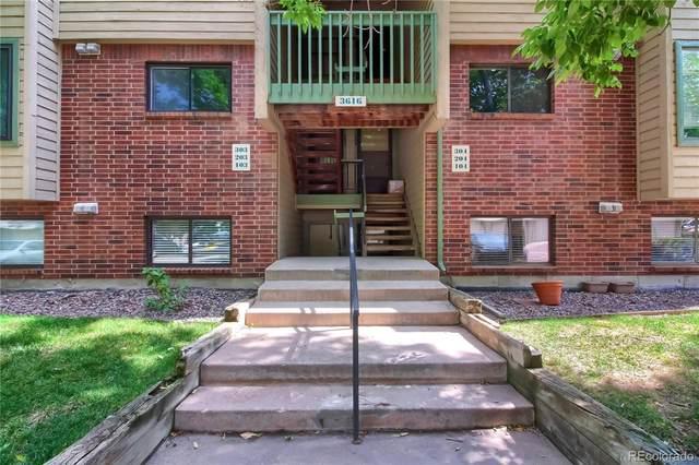 3616 S Depew Street #104, Lakewood, CO 80235 (MLS #9584804) :: Bliss Realty Group