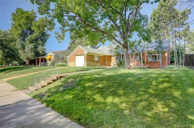 1125 Glencoe Street, Denver, CO 80220 (#9613431) :: Re/Max Structure