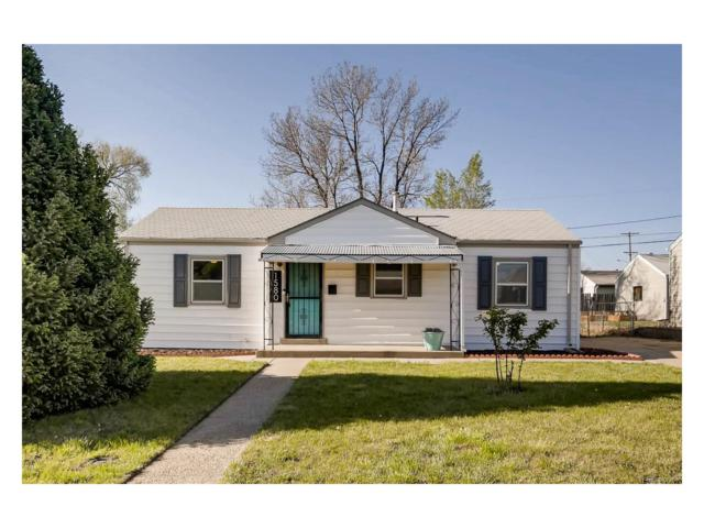 1580 W Stoll Place, Denver, CO 80221 (MLS #9631033) :: 8z Real Estate