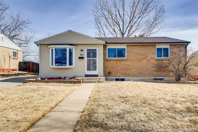 7818 Florado Street, Denver, CO 80221 (MLS #9645705) :: Wheelhouse Realty