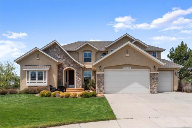13992 Windy Oaks Road, Colorado Springs, CO 80921 (#9677430) :: The Dixon Group