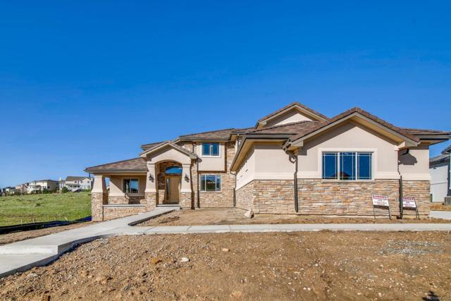5704 Distant View Place, Parker, CO 80134 (#9685565) :: The Galo Garrido Group