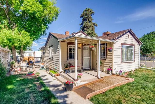 571 S Stuart Street, Denver, CO 80219 (#9703700) :: The Galo Garrido Group