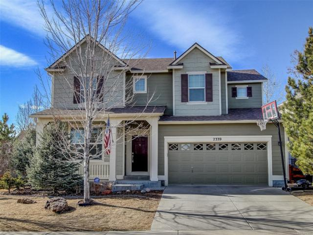 2339 Robindale Way, Castle Rock, CO 80109 (#9705340) :: RE/MAX Professionals