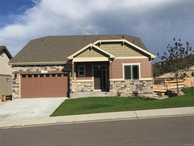 412 Sage Grouse Circle, Castle Rock, CO 80109 (#9720561) :: The Peak Properties Group