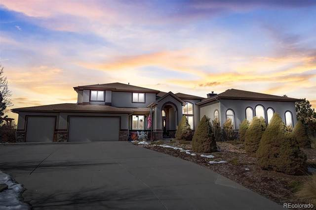 5129 Shade Tree Lane, Parker, CO 80134 (#9721226) :: The Dixon Group
