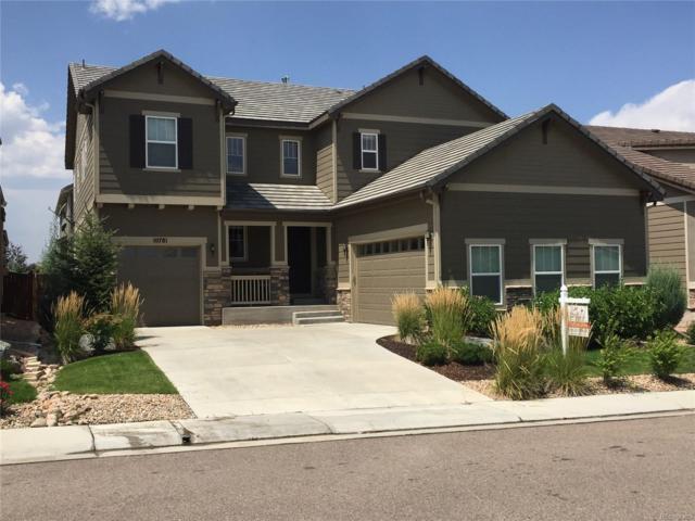 10781 Hillsboro Street, Parker, CO 80134 (#9731288) :: The Peak Properties Group