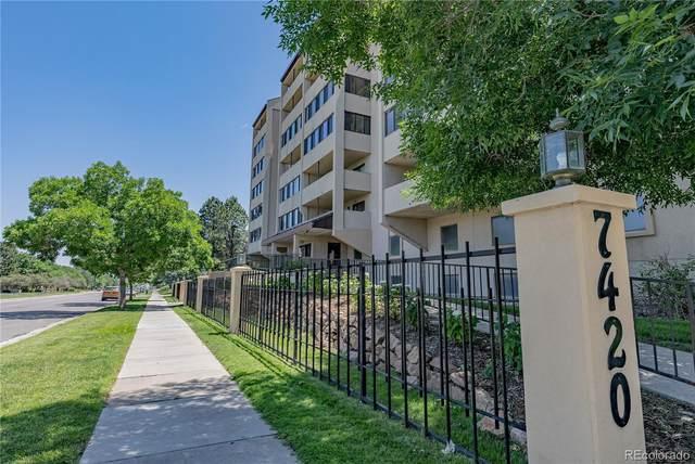 7420 E Quincy Avenue #606, Denver, CO 80237 (#9740358) :: Finch & Gable Real Estate Co.