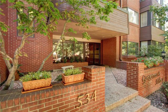 534 E 7th Avenue #305, Denver, CO 80203 (#9757698) :: The Heyl Group at Keller Williams