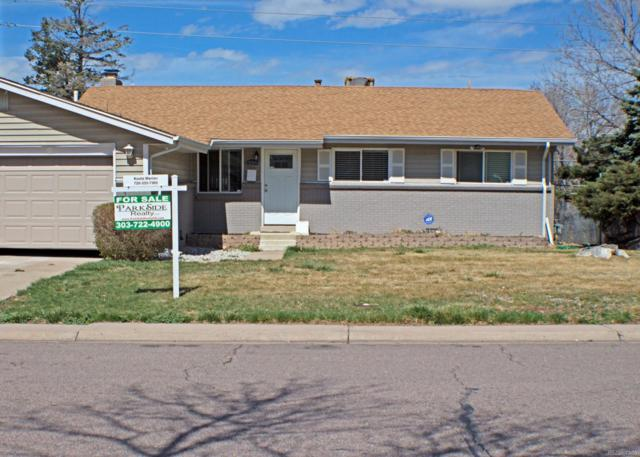 13399 E Nevada Avenue, Aurora, CO 80012 (#9767106) :: The Peak Properties Group
