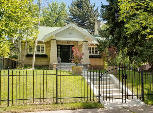600 Saint Paul Street, Denver, CO 80206 (MLS #9768858) :: 8z Real Estate