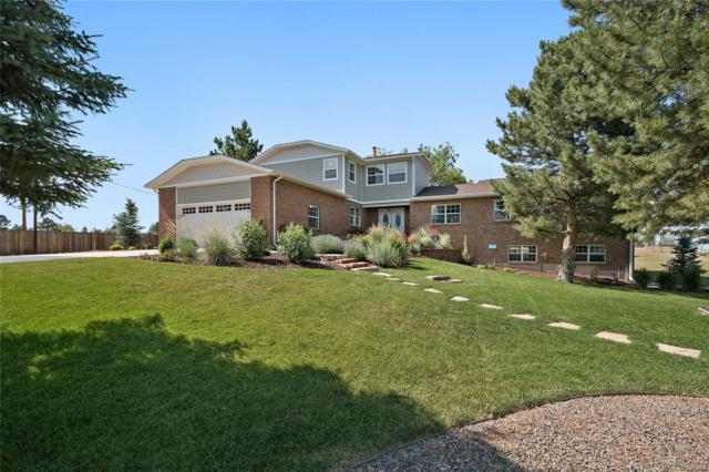 8525 E Summit Road, Parker, CO 80138 (#9787353) :: The Pete Cook Home Group