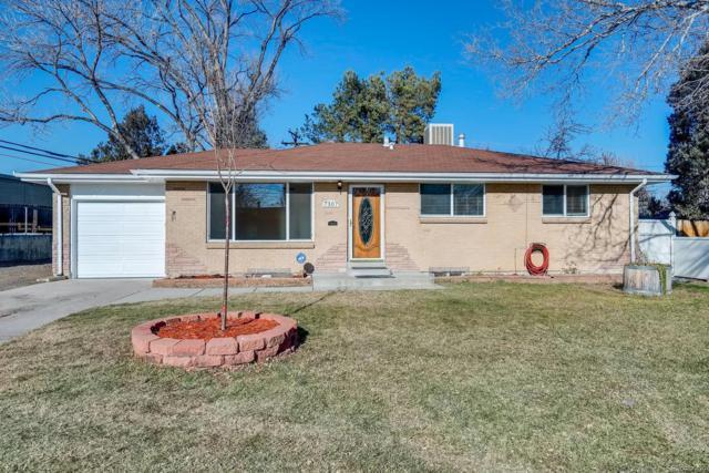 7307 W 64th Avenue, Arvada, CO 80003 (#9800310) :: House Hunters Colorado