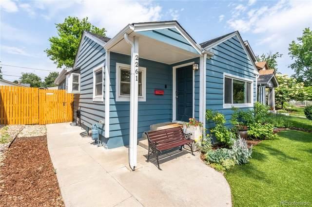2261 S Marion Street, Denver, CO 80210 (#9805074) :: Colorado Home Finder Realty