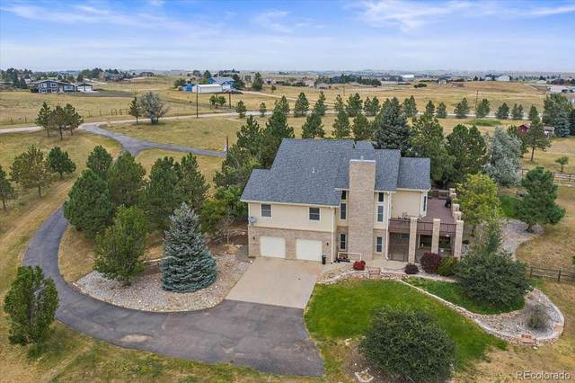 40988 Ricki Drive, Parker, CO 80138 (#9831016) :: The Griffith Home Team