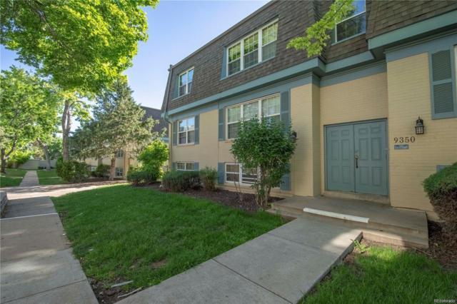 9350 E Girard Avenue #10, Denver, CO 80231 (#9835013) :: The Griffith Home Team