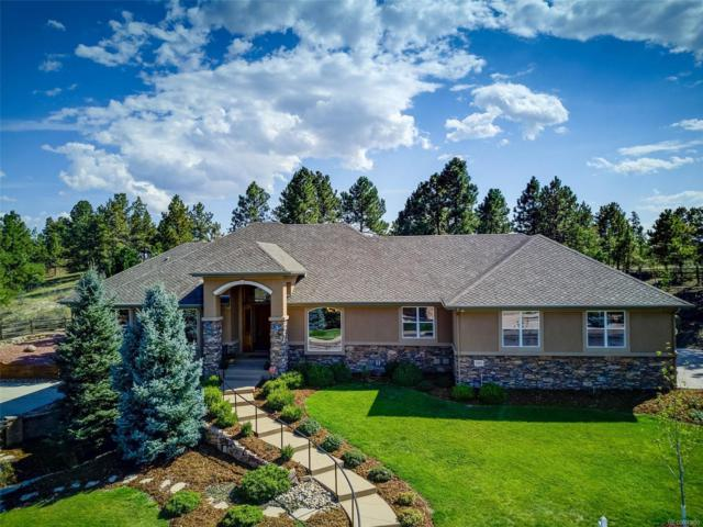 8860 Windhaven Drive, Parker, CO 80134 (#9842812) :: The DeGrood Team