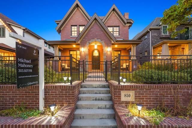 850 S Gilpin Street, Denver, CO 80209 (MLS #9870562) :: The Sam Biller Home Team