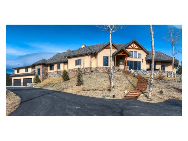 3671 Beaver Brook Canyon Road, Evergreen, CO 80439 (MLS #9946550) :: 8z Real Estate