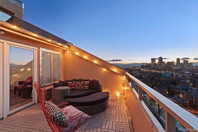 1313 N Williams Street #1501, Denver, CO 80218 (#9963535) :: Re/Max Structure