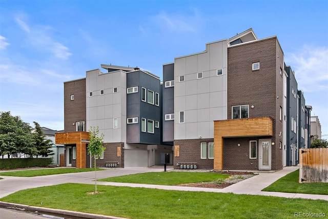 3421 W 16th Avenue, Denver, CO 80204 (#9990530) :: West + Main Homes