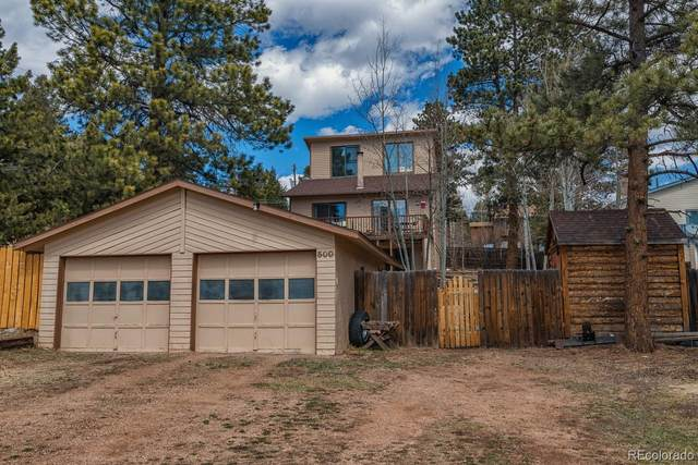 500 E Gunnison Avenue, Woodland Park, CO 80863 (MLS #1542644) :: 8z Real Estate