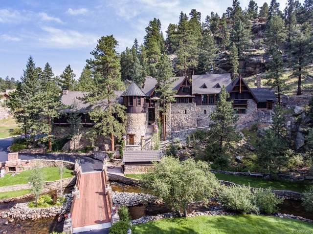 30403 Upper Bear Creek Road, Evergreen, CO 80439 (#1578018) :: The Griffith Home Team
